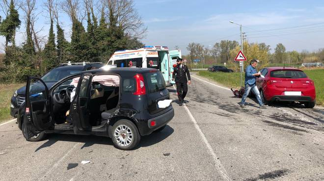 incidente a  canneto sotto