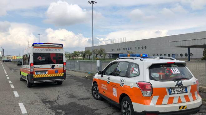 incidente sul lavoro in via commercio