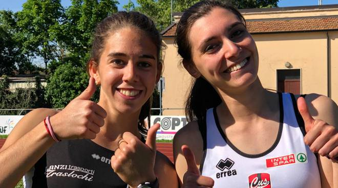 Margherita Michelotti e Rita Calaiò Atletica 5 Cerchi