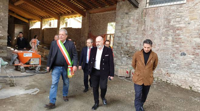 Tour di Bonaccini in Val Nure