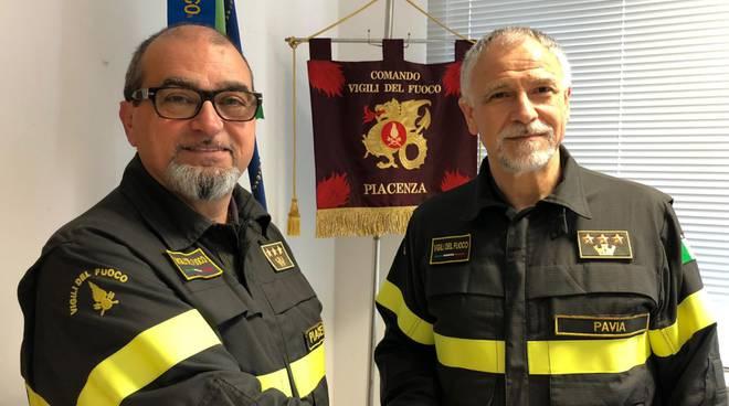 Comandante Pilotti vigili del fuoco