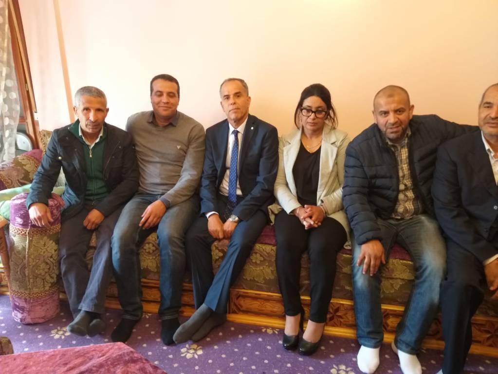 Console Marocco in visita