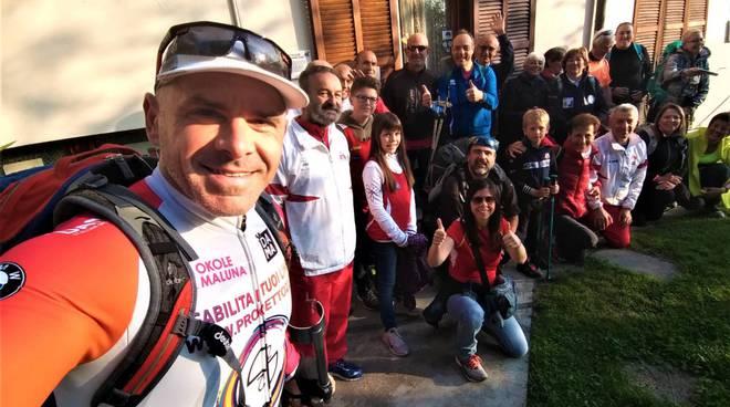 De Vincenzi paralimpico via Francigena