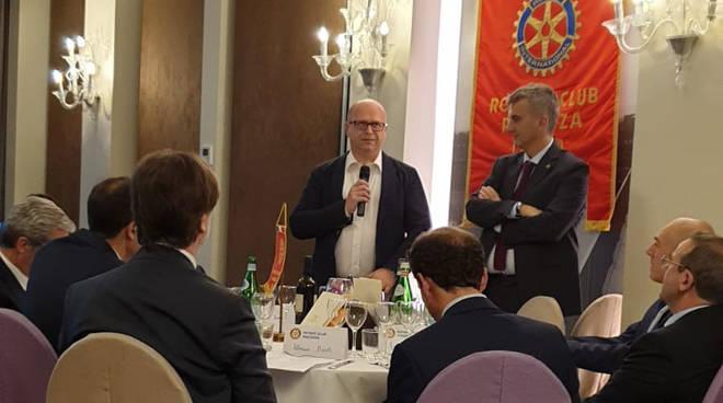 Filippo Perini ospite del Rotary Piacenza