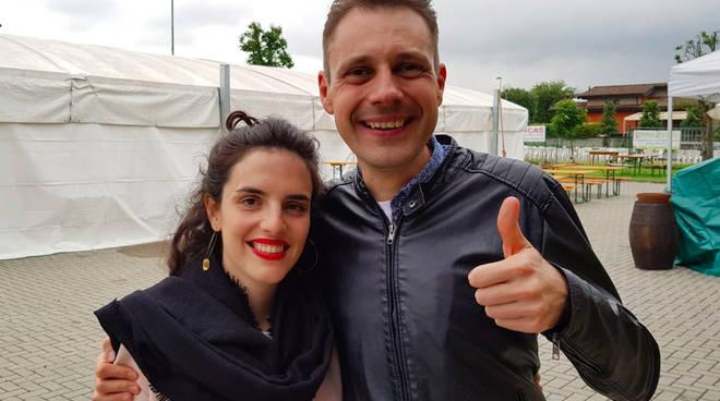 Filippo Zangrandi e Sara Ferrari