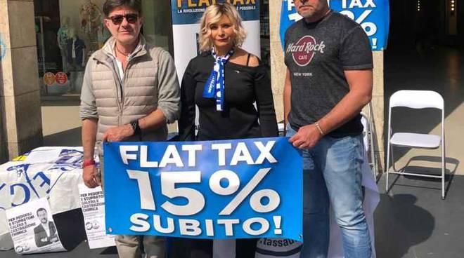 flat tax day della Lega