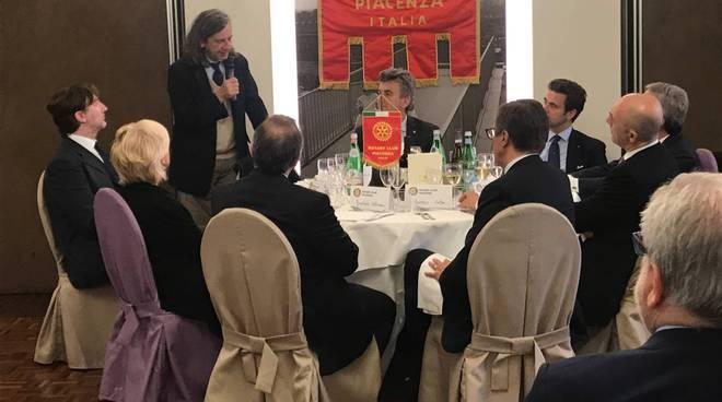 Giorgio Terruzzi al Rotary