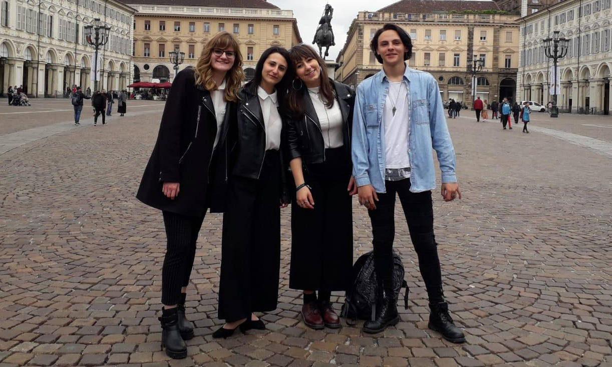 Gli studenti del Nicolini premiati a Torino