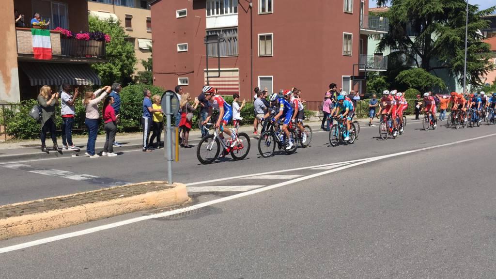 Il passaggio del Giro a Piacenza
