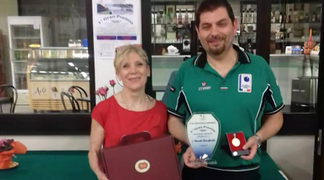 Il vincitore Claudio Ricci