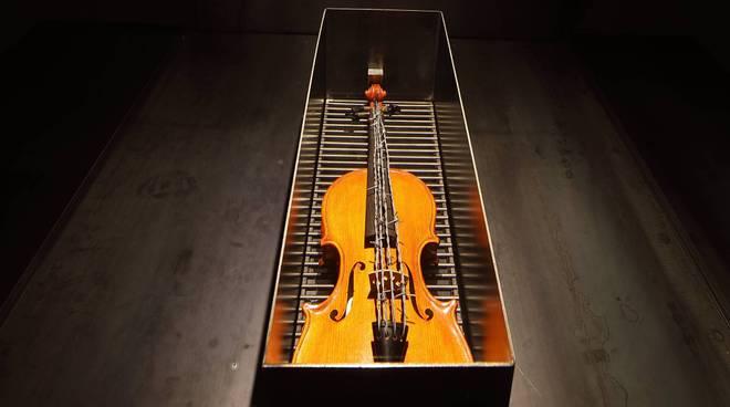 il violino con il filo spinato di Jannis Kounellis
