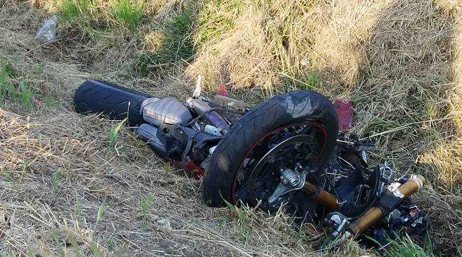 incidente moto Besurica