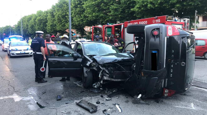 incidente viale Martiri