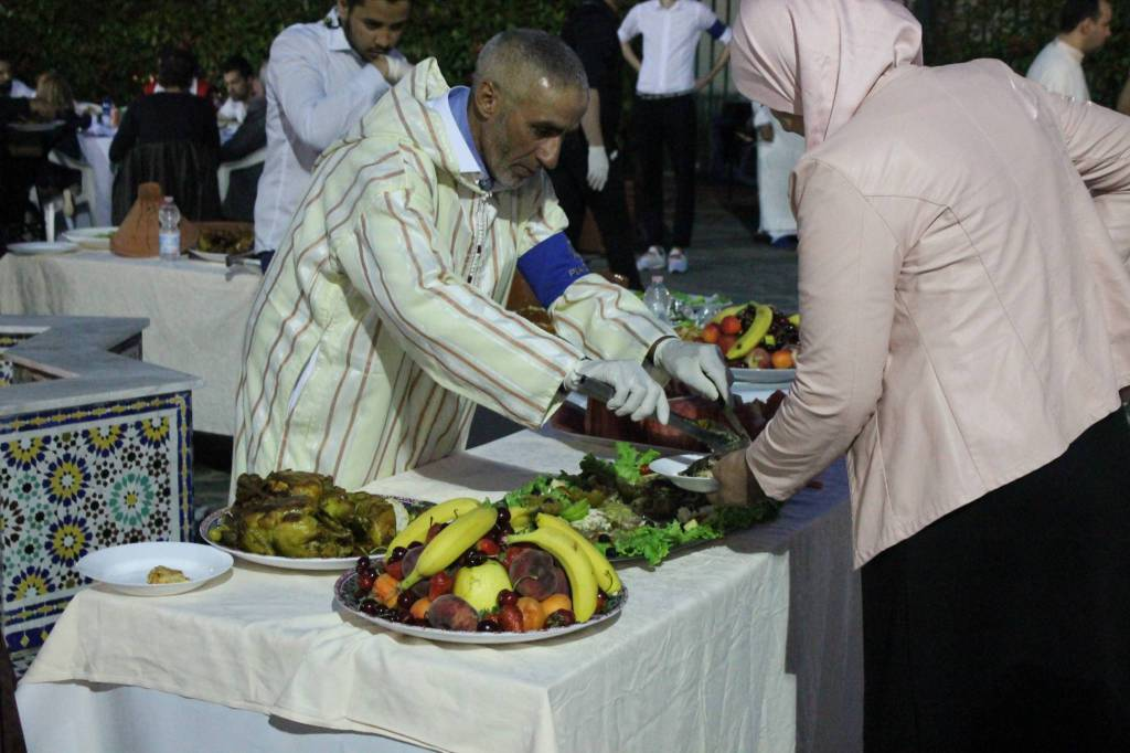La cena dell'Iftar 2019