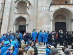 La festa dei neolaureati della Cattolica