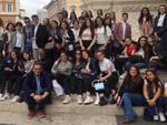 La visita in Parlamento degli studenti del Mattei