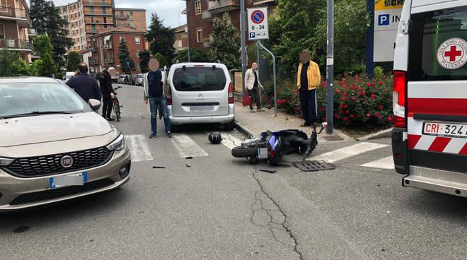 Lo scontro in via Gobetti