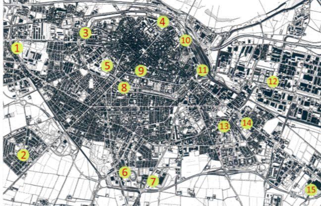 Mappa colonnine elettriche
