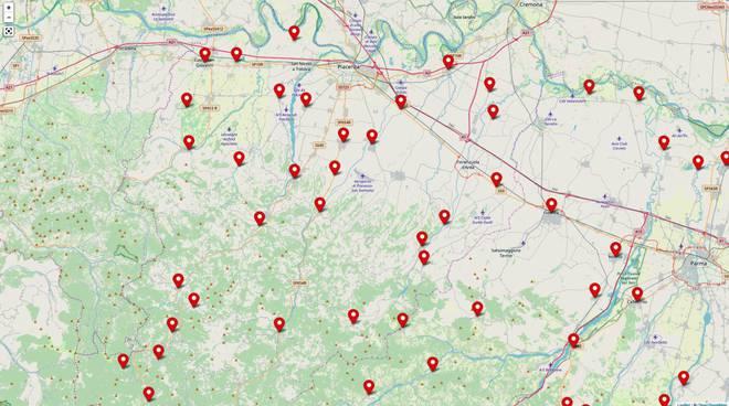 mappa comunali 2019