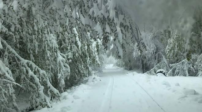 neve maggio a Santa Franca