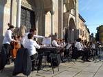 Orchestra in piazza Duomo