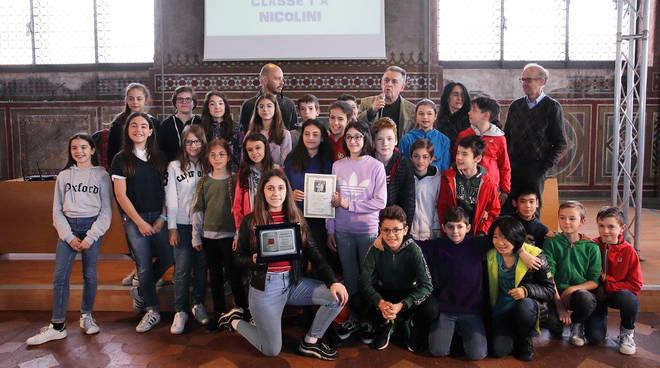 Premio Anguissola, i vincitori delle scuole medie inferiori