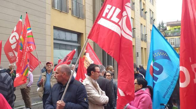 presidio sindacati morti sul lavoro