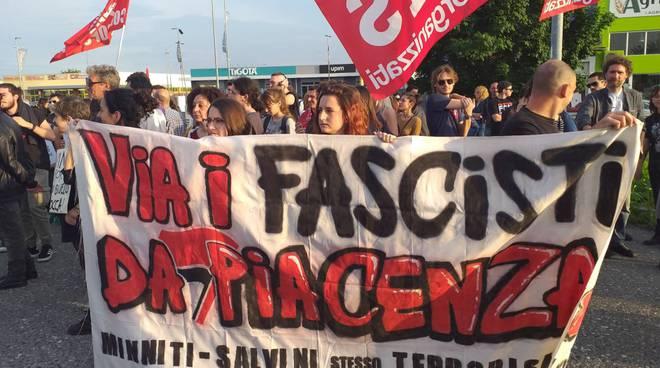 Protesta Salvini