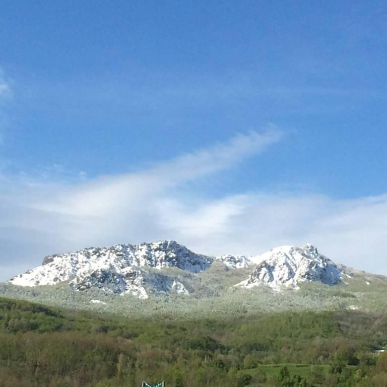 Monte Menegosa innevato
