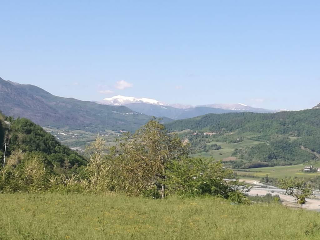 Monte Lesina innevato