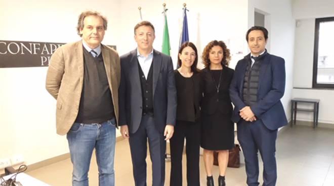 i partecipanti al workshop sui lavoratori distaccati organizzato da Confapi Piacenza