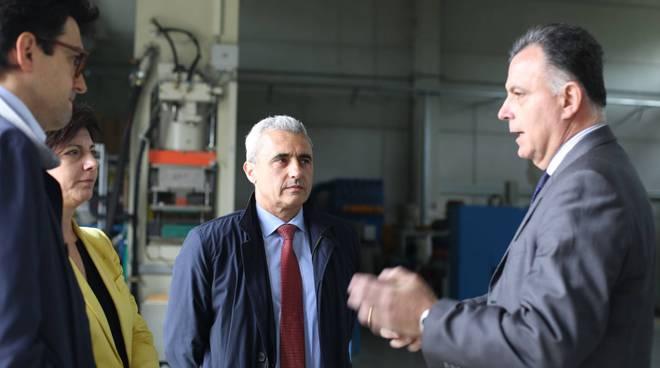 Francesco Rolleri in visita al Tecnopolo di Piacenza