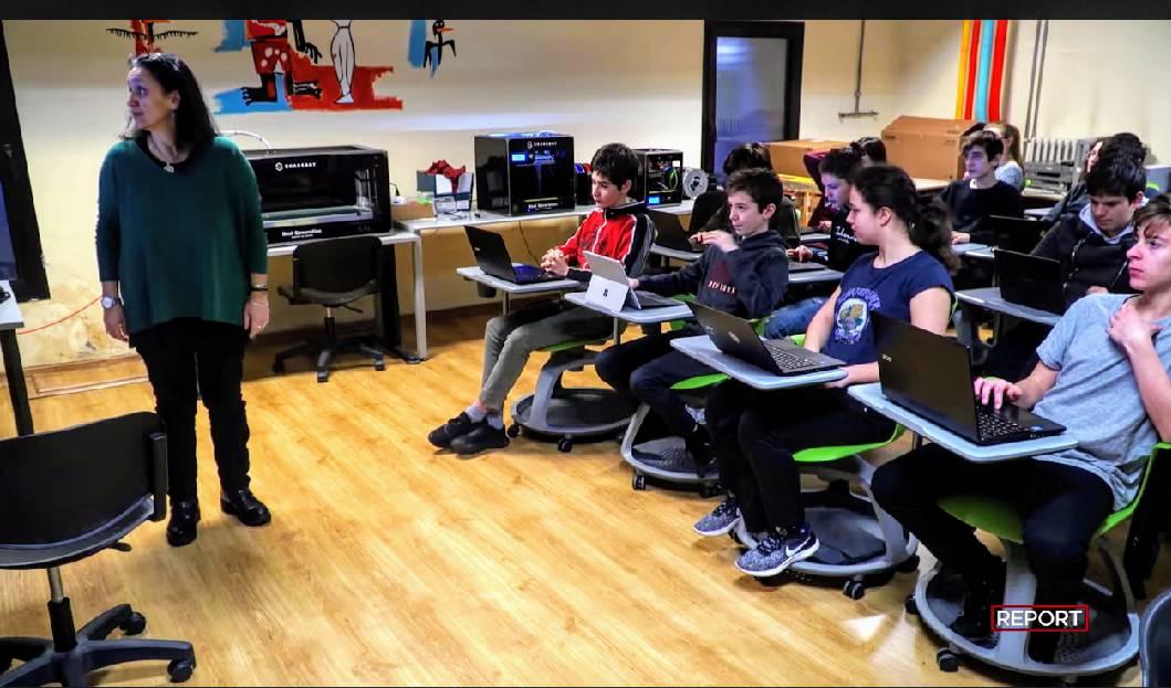 Report al liceo Gioia