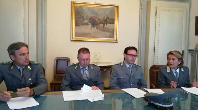 Presentazione del report della polizia provinciale