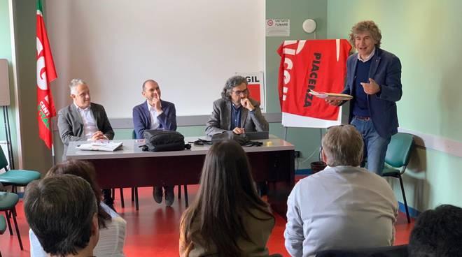 Fiorenzo Molinari segretario generale della Flai Cgil di Piacenza
