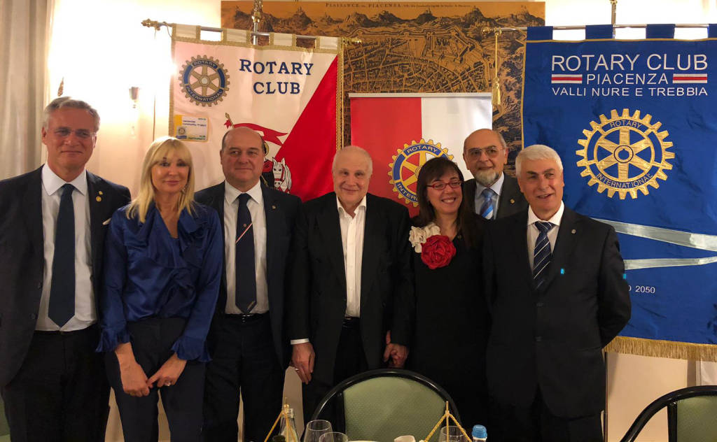 Stefano Gatti all'Interclub Rotary