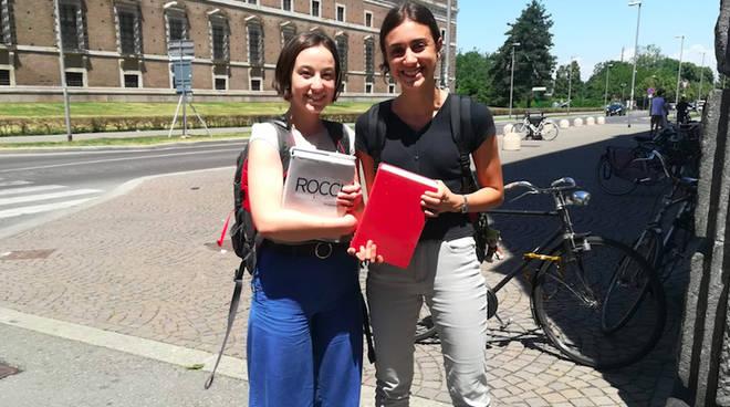 Arianna Fummi e Caterina Rebecchi (Liceo Gioia)
