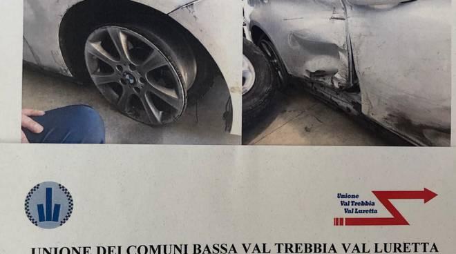 auto incidentata Campremoldo