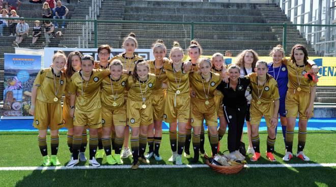 calcio femminile torneo Borgotrebbia
