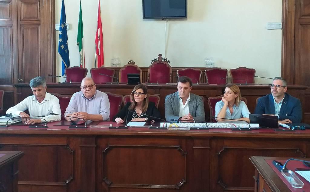 Conferenza stampa Venerdì Piacentini