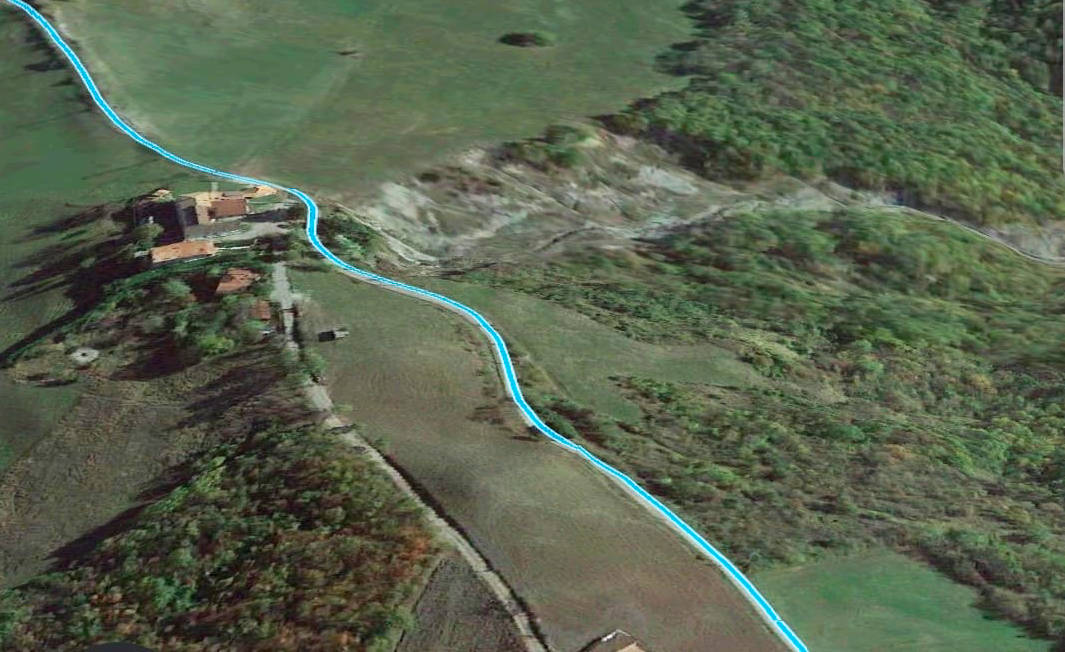 Frana Colombello (immagine da Google Earth)