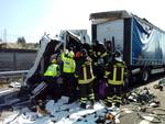 incidente autostrada a Borgotrebbia