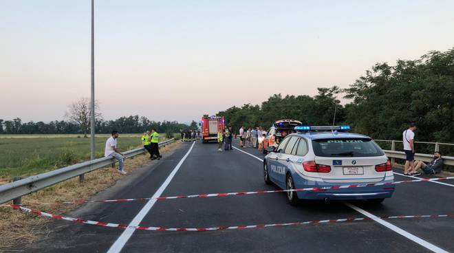 incidente mortale statale 45 alba