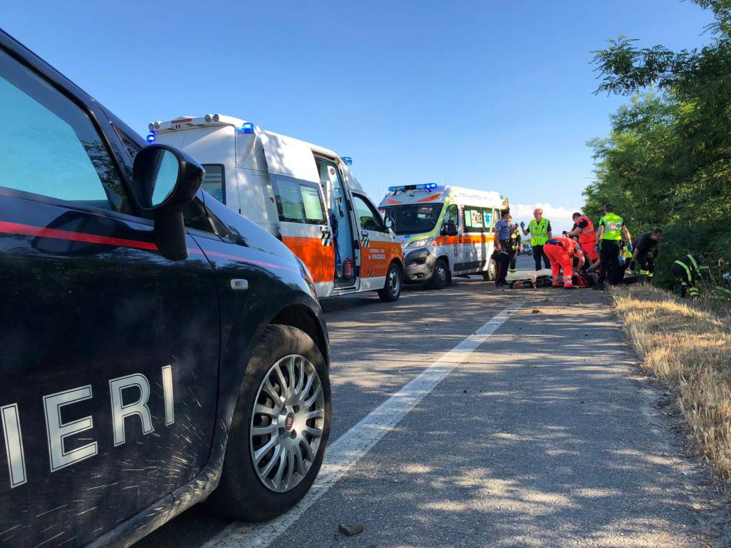 incidente statale 45 Settima