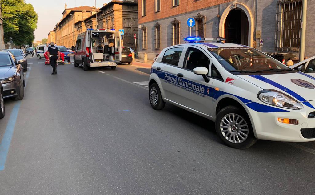 L'incidente sullo Stradone Farnese