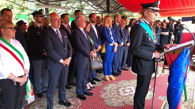 La festa dell'Arma dei carabinieri a Piacenza
