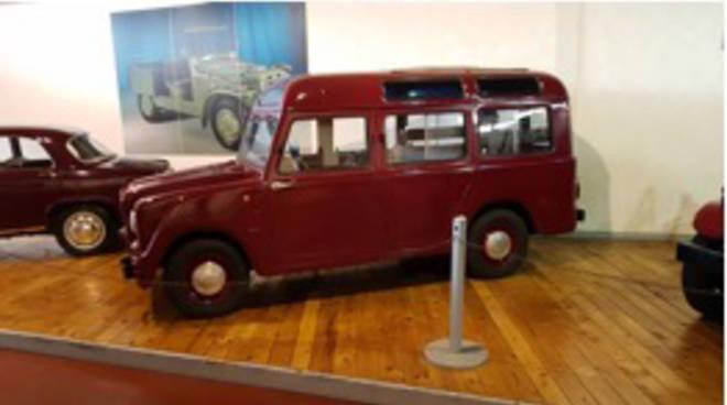 La Fiat 1100 della polizia