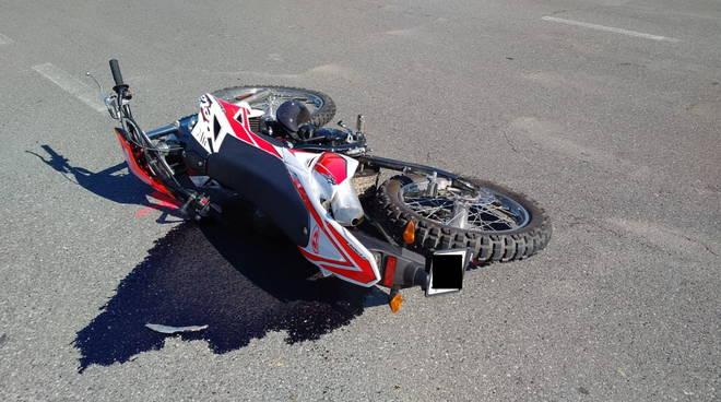 moto incidente Castello