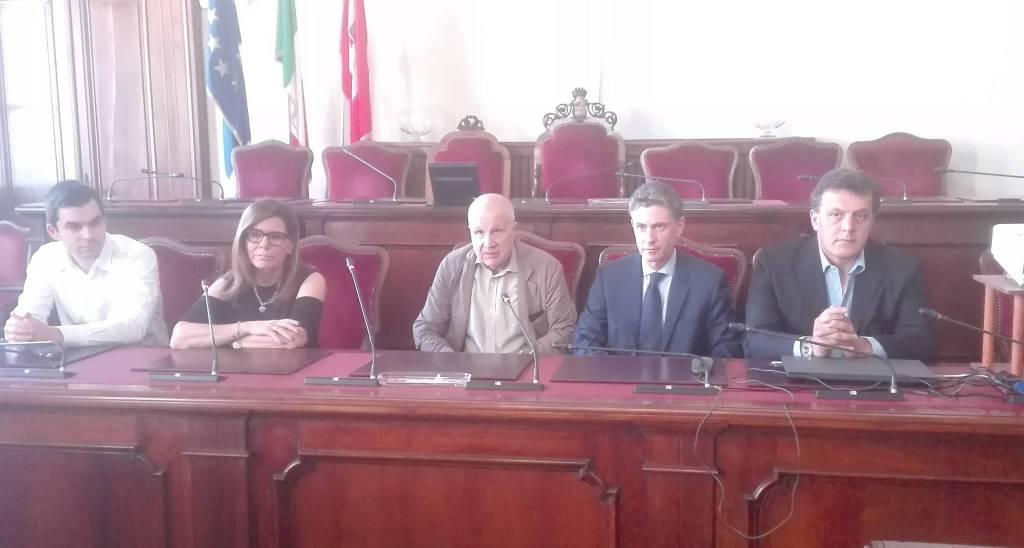 La presentazione dei cento anni del Piacenza Calcio