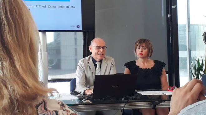 Stefano Marconi e Sonia Alvisi